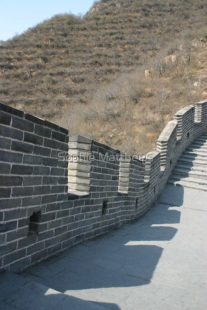 Big chinese wall by Sophie Matthews