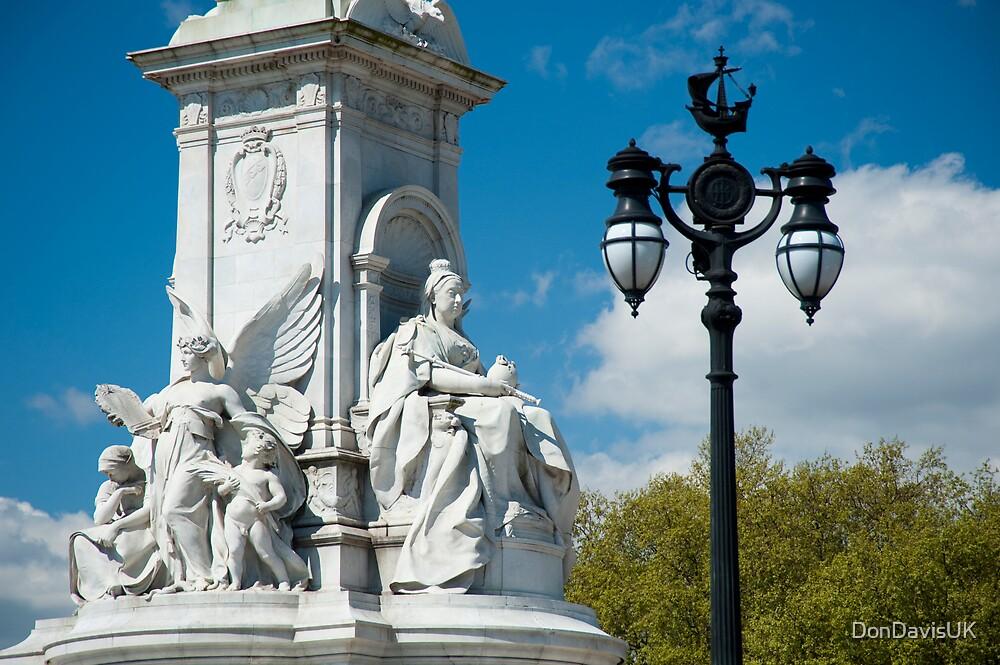 Queen Victoria Monument Detail #2 Colour by DonDavisUK