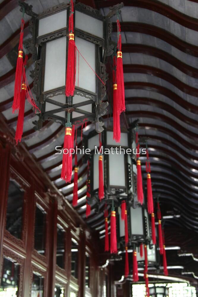 Chinese lanterns by Sophie Matthews