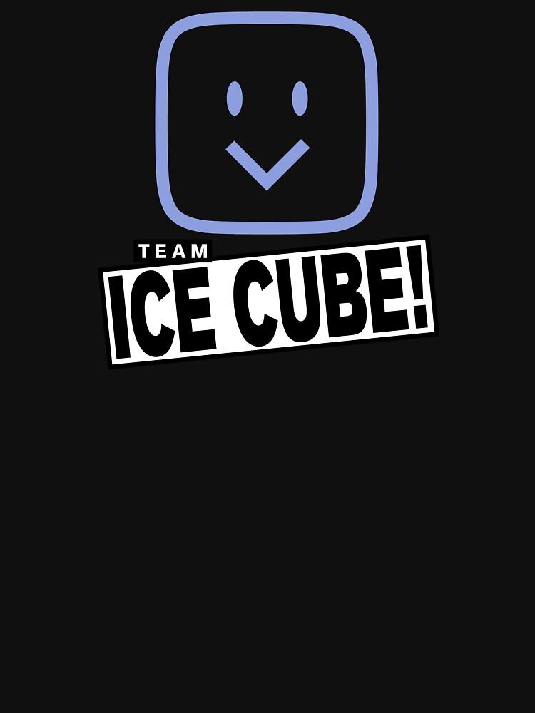 Team Ice Cube! (hanger logo for dark shirt colors) by jacknjellify