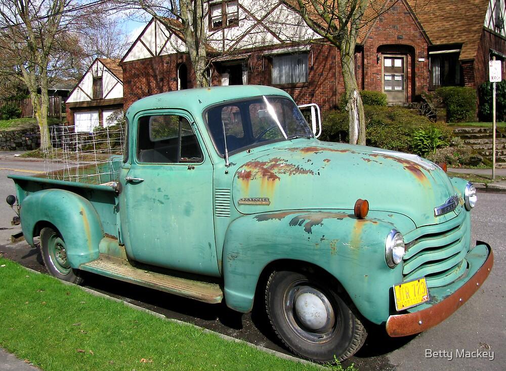 A Gardener's Truck by Betty Mackey