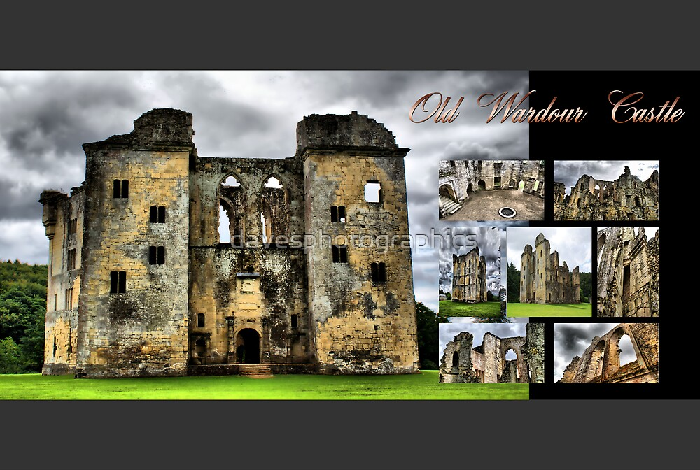 Calander Front Page Old Wardour Castle by davesphotographics