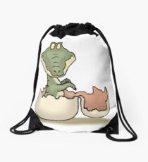 GATOR BABY Drawstring Bag