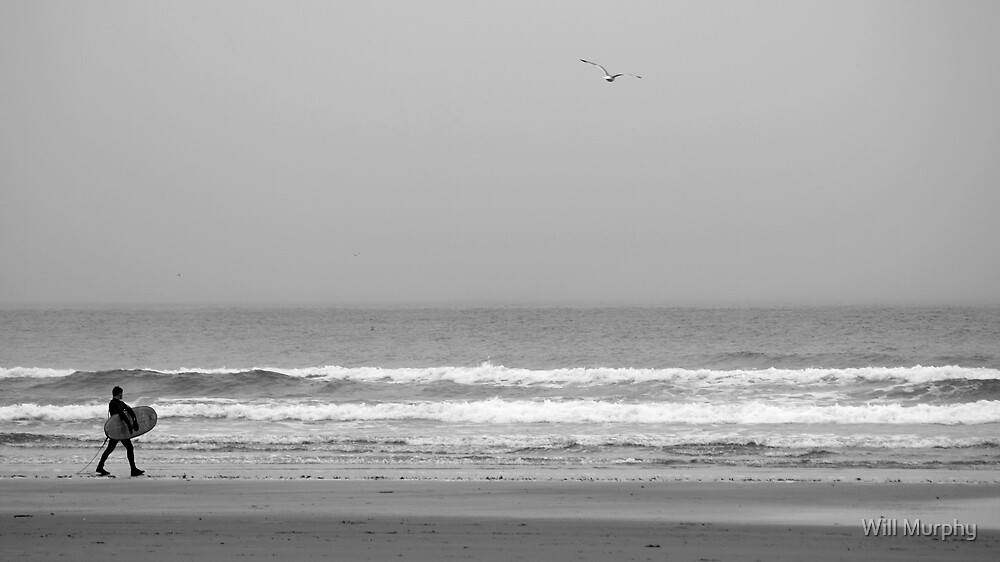 Lone Surfer by Will Murphy