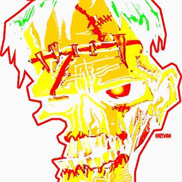 FRANK HEAD 2 by sideshowmonkey