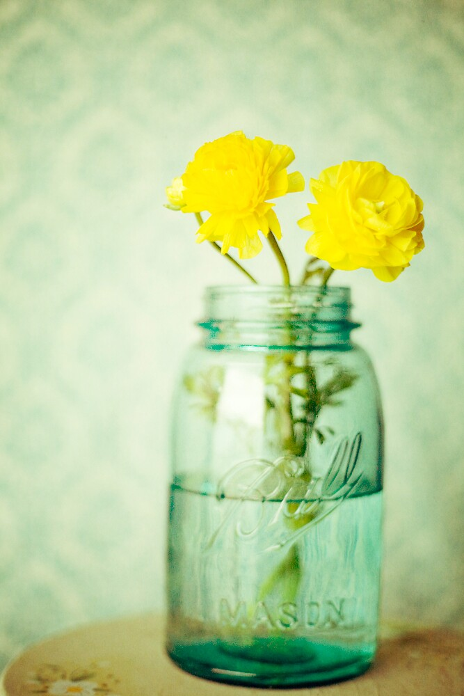 Yellow In A Jar by AndreaMcClain
