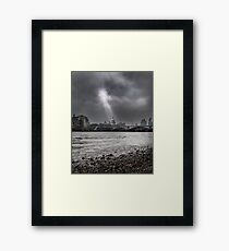 Serenity in the Storm Framed Print