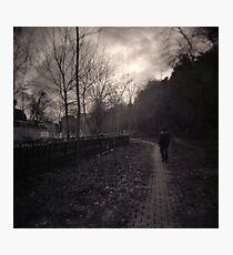Last Alone Photographic Print