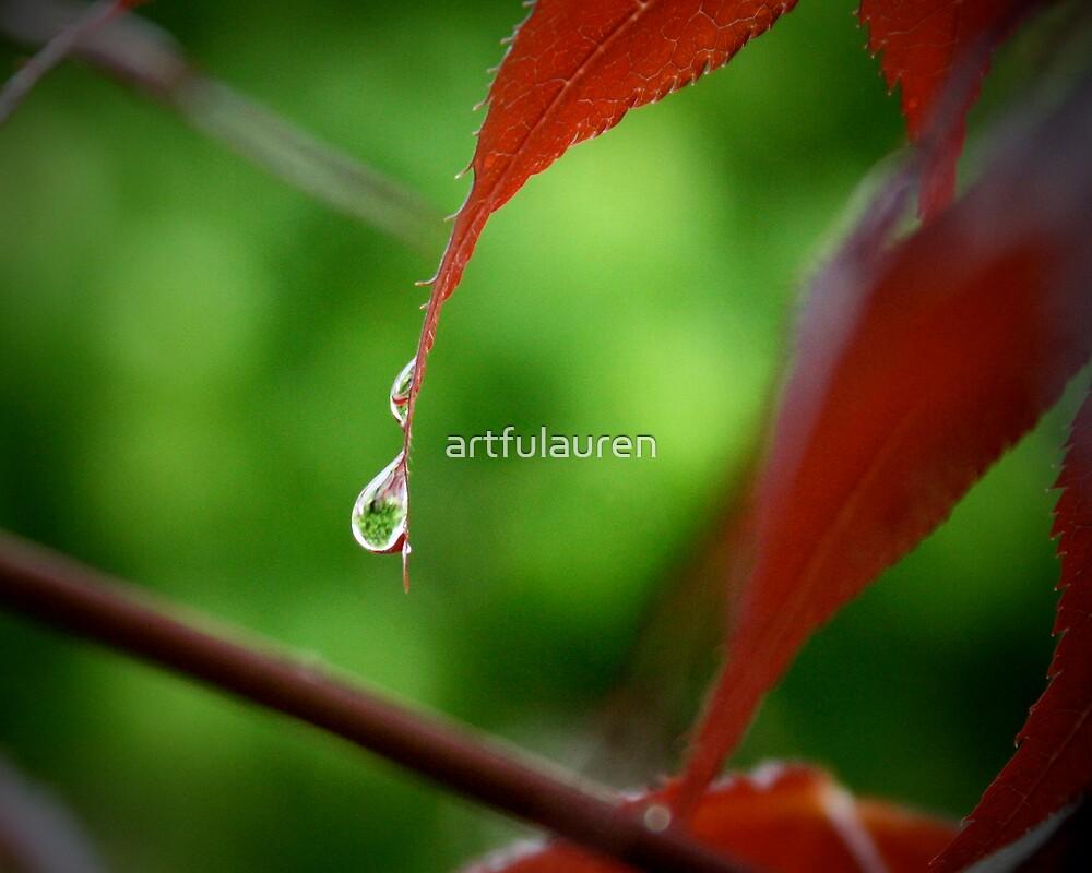Rain droplets by artfulauren