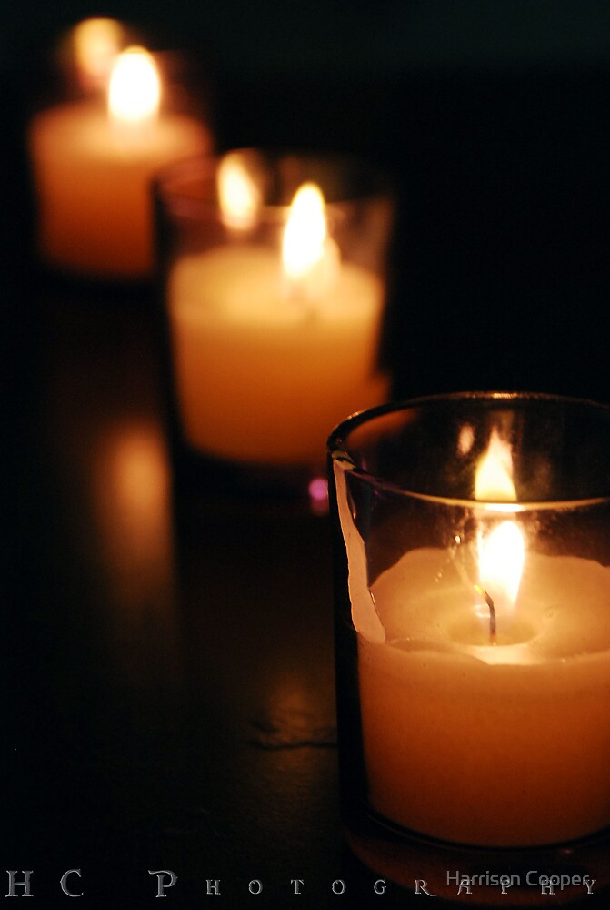 Candle light by Harrison Cooper
