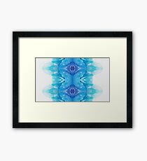 Blue Eyed Sea Framed Print