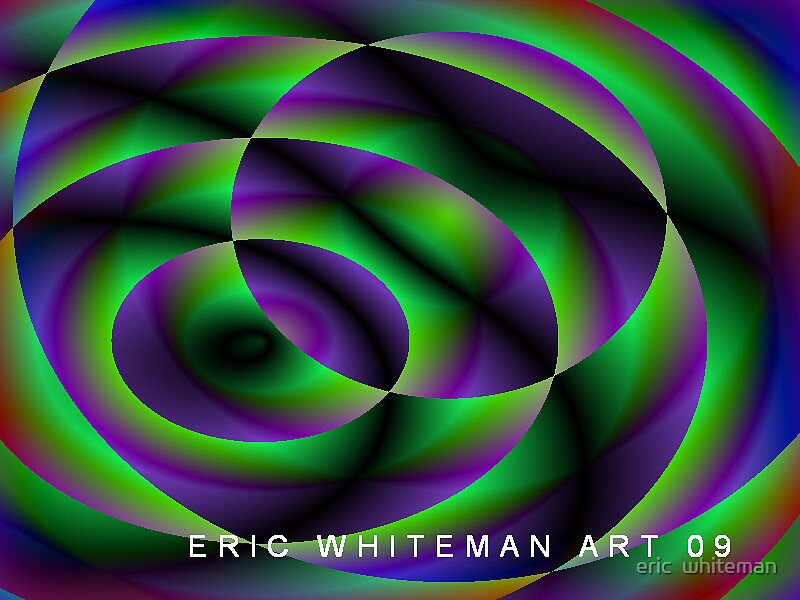 (FLOSS ) ERIC WHITMAN  ART   by eric  whiteman