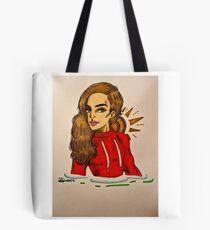 Sportive Girl Tote Bag