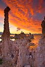 Mono Lake Sky on Fire by photosbyflood