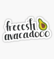 fresh avacado Sticker