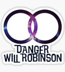 Lost In Space - Danger Will Robinson Sticker