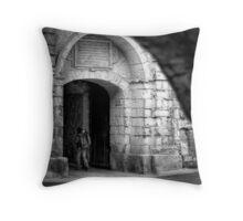 Greek's Gate - Mdina, Malta Throw Pillow