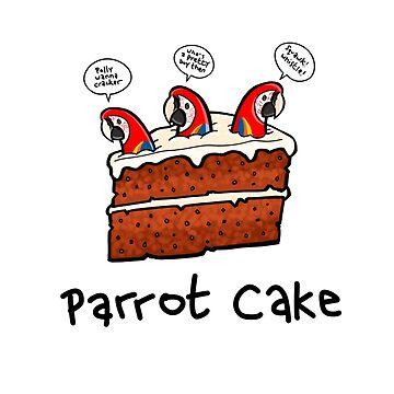 Parrot Cake by DocHackenbush