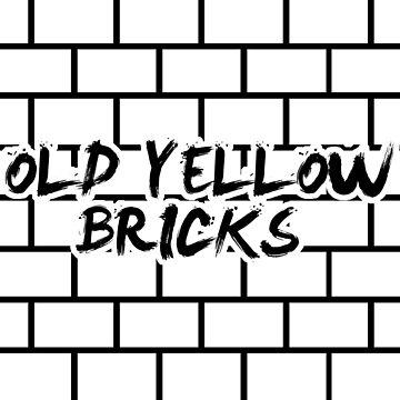 Old Yellow Bricks (Arctic Monkeys) by barnzeydesigns