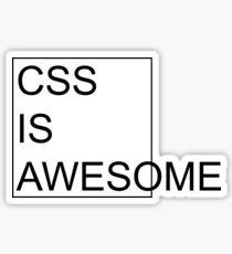 Pegatina CSS es impresionante