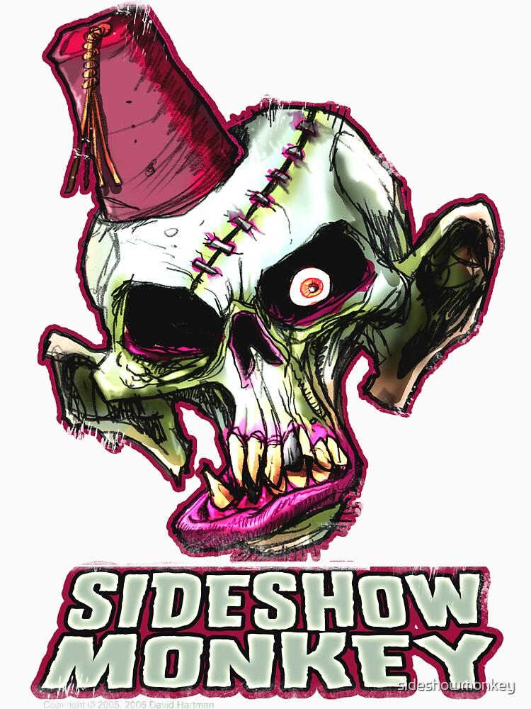 SIDESHOW MONKEY SHIRT - weathered by sideshowmonkey