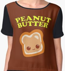 Couple - Peanut Butter (& Jelly) Chiffon Top