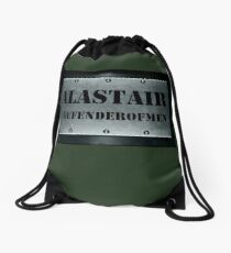 Alastair  Drawstring Bag
