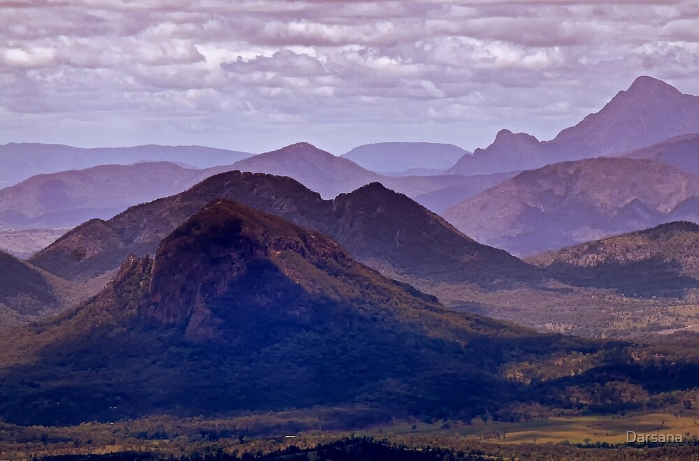Mountains and Valleys by Tony Steinberg