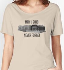 Never Forget Dusty Women's Relaxed Fit T-Shirt