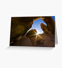 Sonrise greeting cards redbubble sunrise at arch rock joshua tree national park greeting card m4hsunfo Images