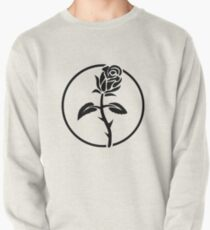 Black Rose of Solidarity. Anarchists Rose. Pullover