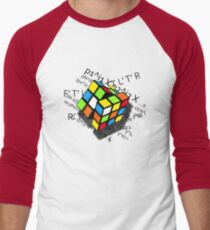 Rubix Formula Men's Baseball ¾ T-Shirt