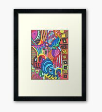 Fixed Income Framed Print