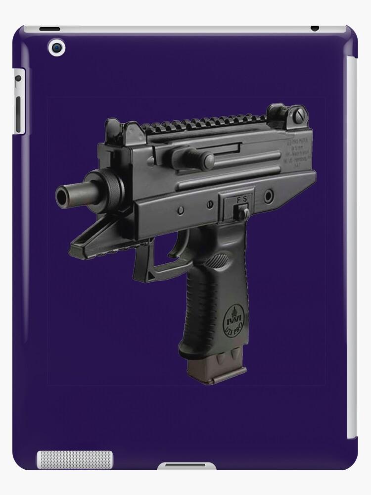 Mini Uzi Ipad Cases Skins By Gapu Oficial Redbubble