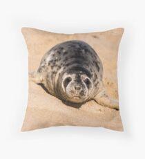 Grey Seal Floor Pillow