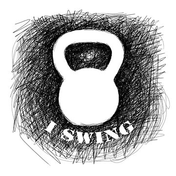 Kettlebell I SWING by aaronnaps