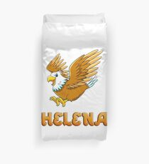 Helena Eagle Sticker Duvet Cover