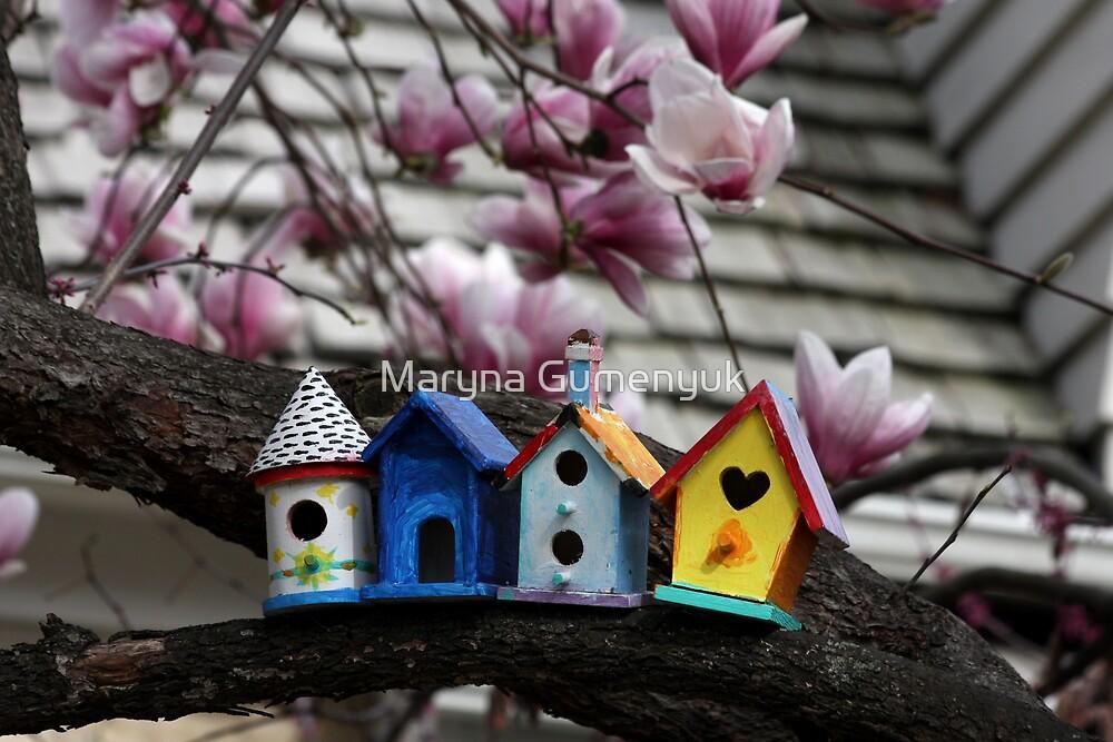 Birdhouses by Maryna Gumenyuk