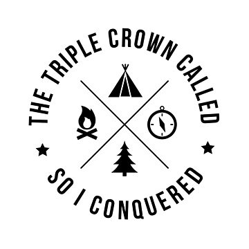 Thru-Hiker Triple Crown PCT AT CDT by astralprints