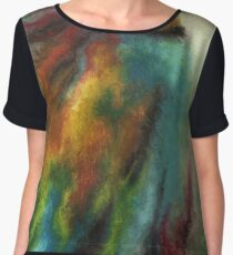 Animal Abstractions: Eye-Catching Chiffon Top