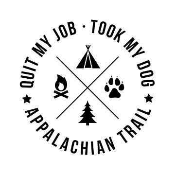 Thru-Hiking Appalachian Trail With My Dog Shirt by astralprints