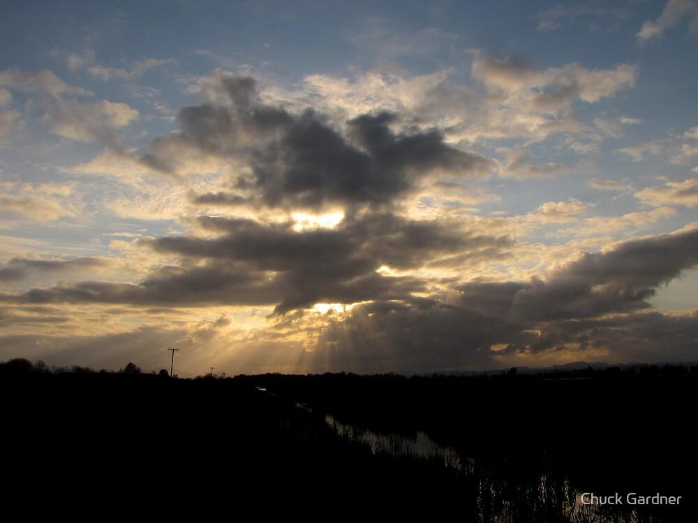 Storm Clouds Over Fern Ridge  by Chuck Gardner