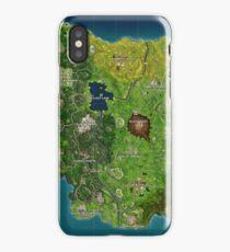 Fortnite Map (best quality / Season 4) iPhone Case
