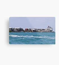 Key West Costal View Metal Print