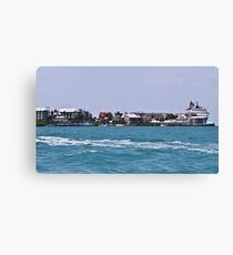 Key West Costal View Canvas Print