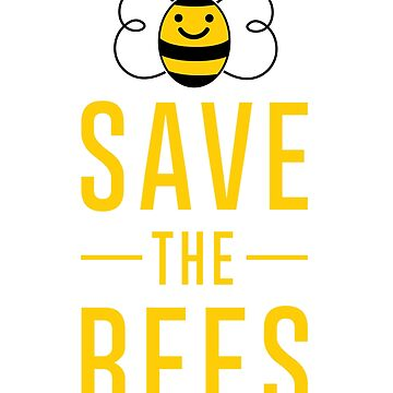 Save the Bees Leggings by Fun-T-Shirts