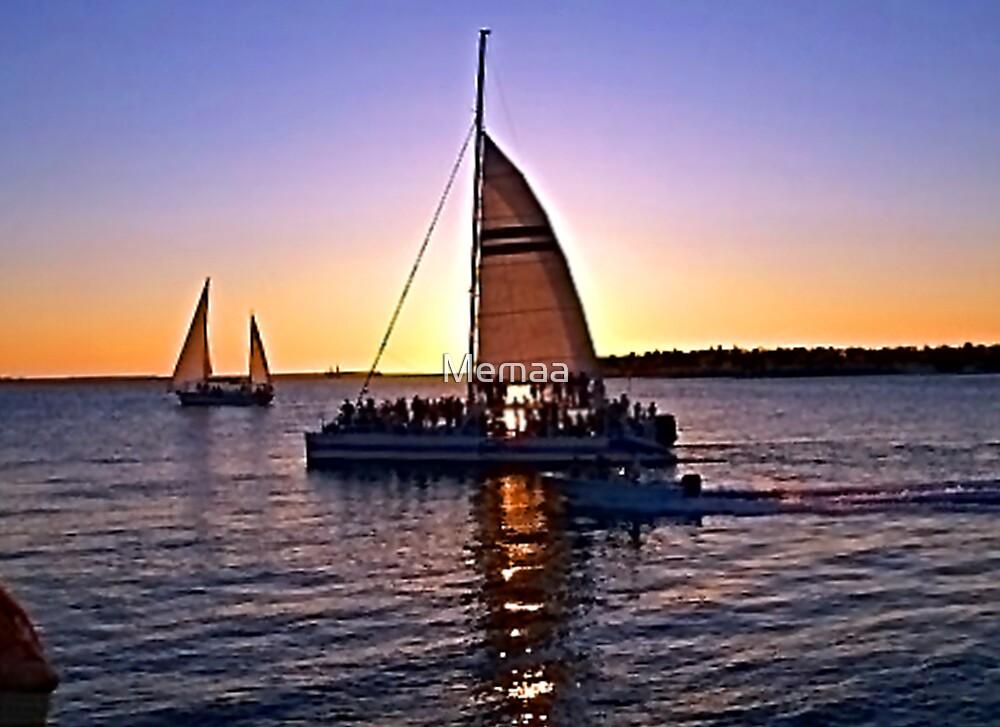Key West Sunset For John by Memaa