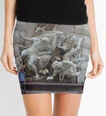 EYES LEFT Mini Skirt