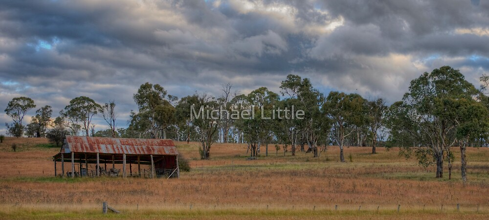 Country Clouds (Armidale) by Michael Little