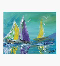 Sea Sails Photographic Print